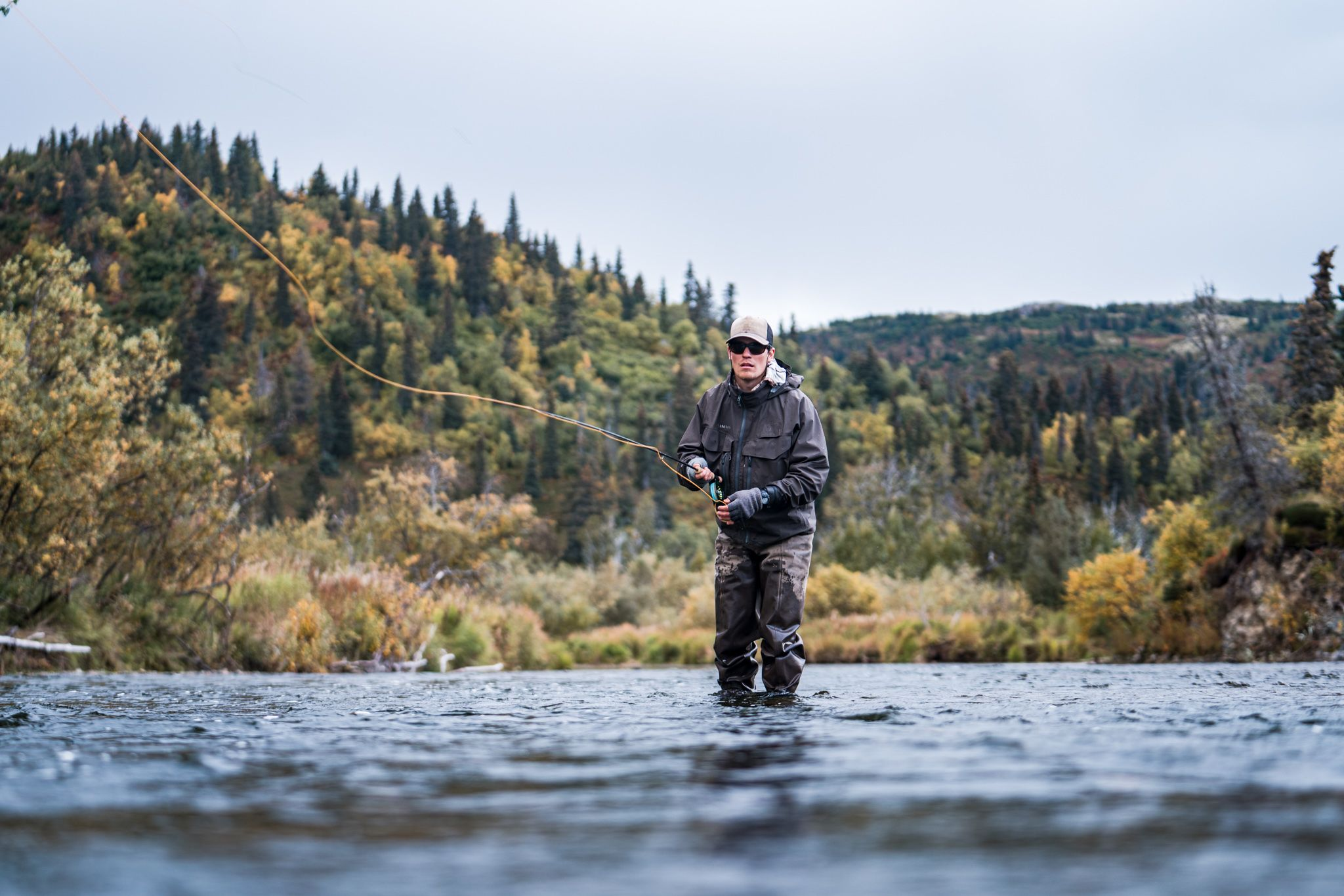 when to fish in alaska