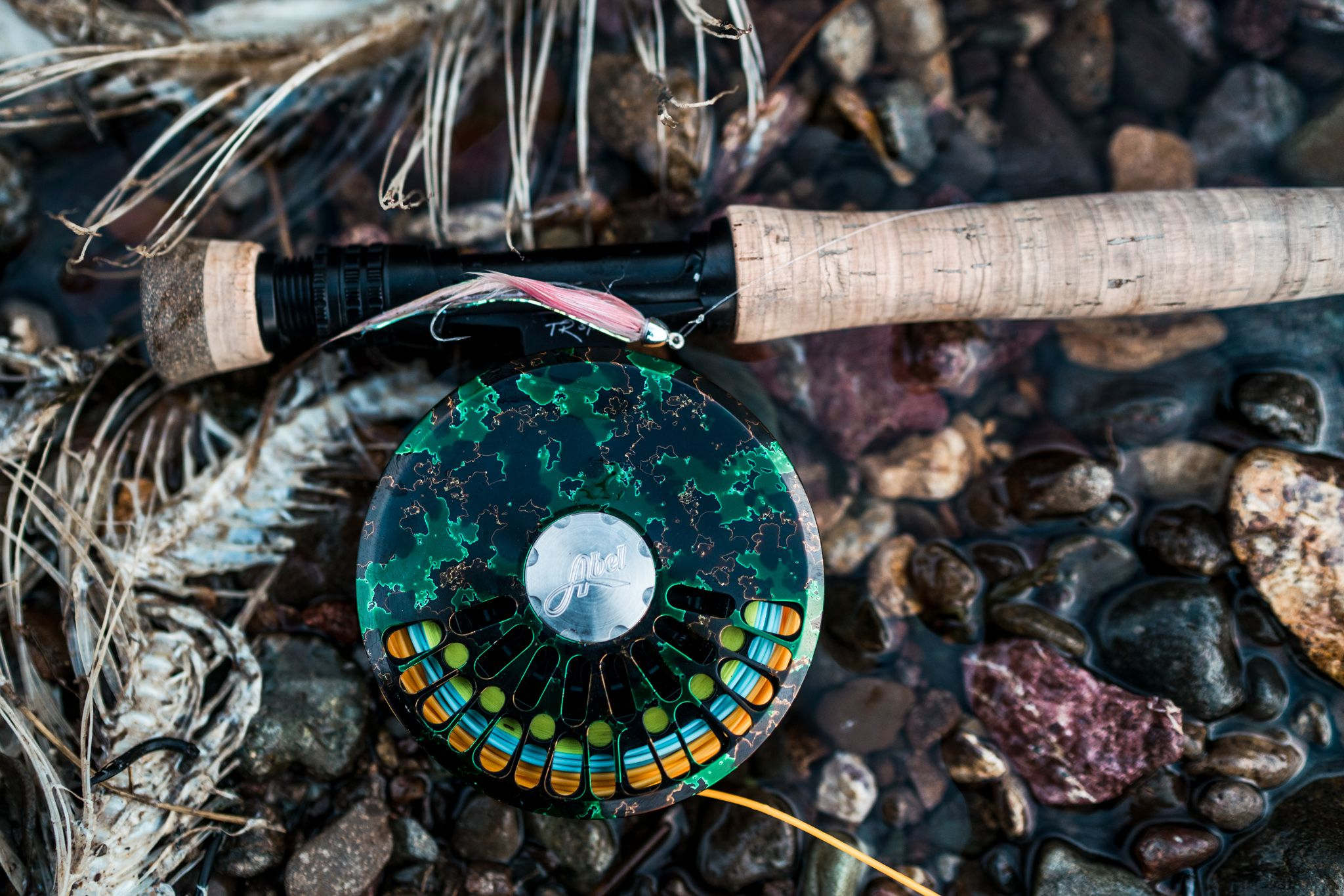 gear for fishing for rainbow trout